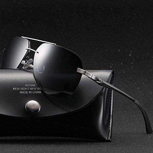 polarizado A143 gafas gafas las de gafas de de clásico hombres Nuevo sol de la sol shing película haixin A color señoras EnwCPZq6xt