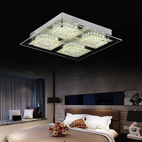 Ceiling Light Modern Flush Mount Ceiling Light Ceiling Lamp Dimmable LED Modern Lighting Fixture Contemporary Pendant light Home Lighting Fixture Chandelier Crystal Top Grade Sitting Room Pendant Lamp