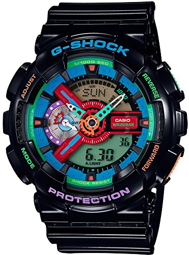 CASIO G SHOCK Crazy Colors GA 110MC 1AJF