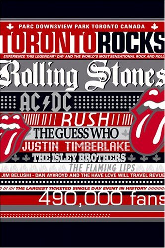 Stone Rolling Lips Flaming - Toronto Rocks
