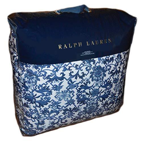 Ralph Lauren Dorsey King Comforter Blue White (Ralph Lauren King Quilt)