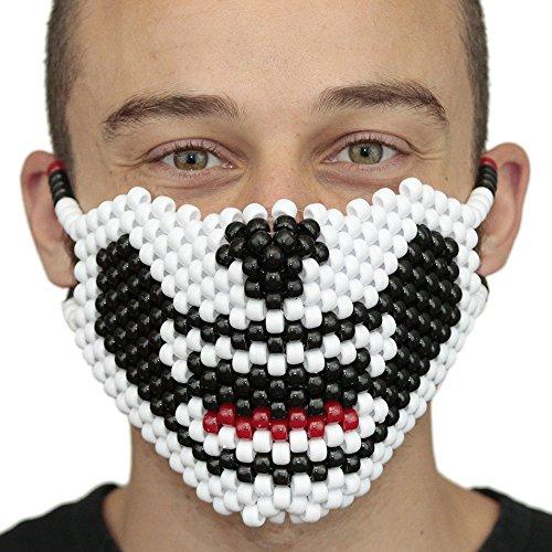 [Wolf Kandi Masks Rave Wear by Kandi Gear (panda)] (Dance Costumes In New Orleans)
