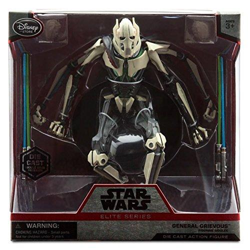 [General Grievous Elite Series Die Cast Action Figure - 7 1/4'' - Star Wars] (Star Wars General Grievous)