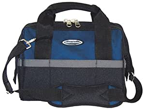 McGuire Nicholas 22312 12-Inch Width Builders Tool Bag in Blue and Black Color Combination