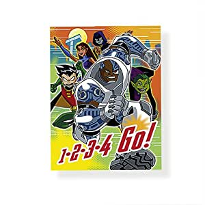 Teen Titans - Party Supplies - Invitations