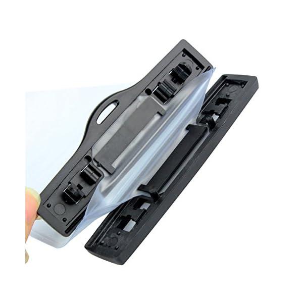 HSeaMall - Funda impermeable universal transparente para radio o walkie-talkie, protección frente a la lluvia, Motorola… 6