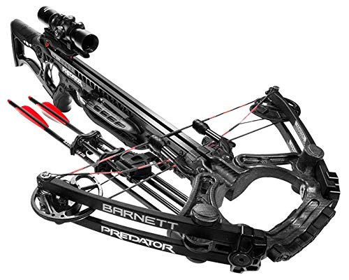 Barnett Predator Crossbow, 430 Feet Per Second with Premium Illuminated Scope by Barnett