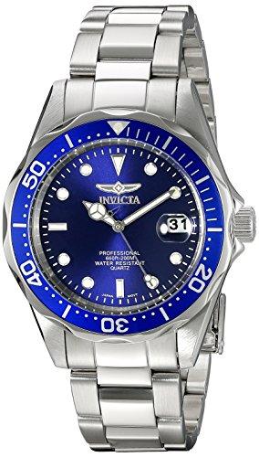 Invicta Men's 9204SYB Pro Diver Analog Display Quartz Silver Watch