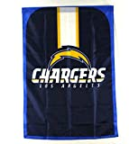 Littlearth NFL Los Angeles Chargers Team Fan Flag, Blue,