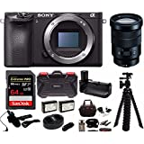 Sony Alpha a6500 Wi-Fi Digital Camera with (Body Only) w/Sony SELP18105G E PZ 18-105mm F4 G OSS + 64GB Bundle