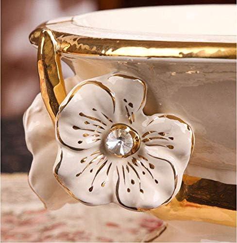 Luckya セラミックの花灰皿防風オフィスタバコラックホームオフィス棚デコレーション/ギフト
