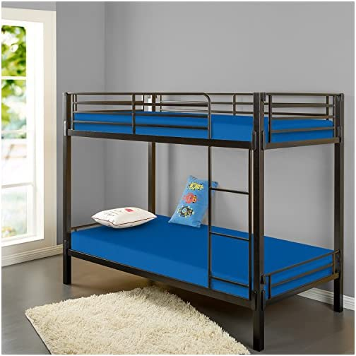 Zinus Memory Foam 5 Inch Bunk Bed / Trundle Bed / Day Bed / Twin Mattress, Blue