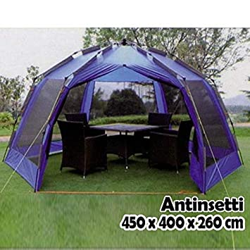 Bakaji Tente de Jardin Antinsetti avec moustiquaire, Grande ...