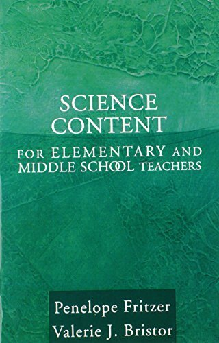 Science Content for Elementary and Middle School Teachers by Penelope J. Fritzer (2003-09-29)