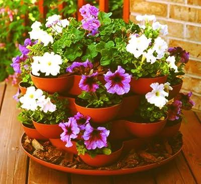 Stack & Grow - Indoor / Outdoor Stackable Flower & Garden Planter