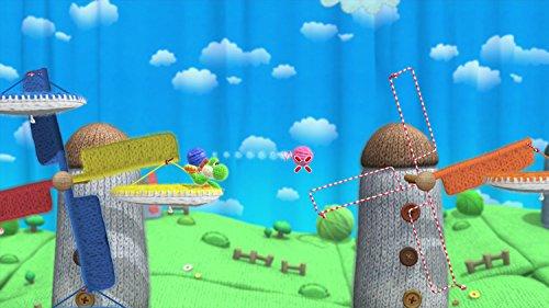 Yoshi Woolly World Bundle Green Yarn Yoshi amiibo - Wii U (Japanese version) by nintendo (Image #9)