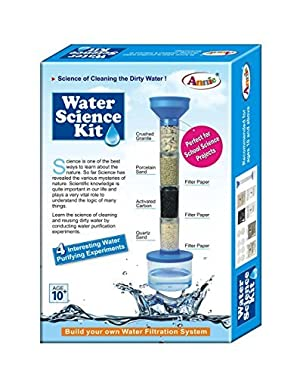 Annie Water Science Kit For Kids Game Science Of Cleaning The Dirty Water Clean Perfect For School Science Projects With 4 Experiments by Annie
