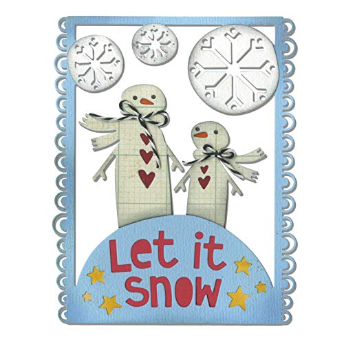 - Sizzix 660731 Thinlits Dies, Let it Snow by Debi Potter