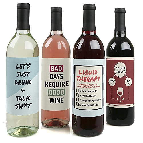 Liquid Therapy Rough Bottle Labels
