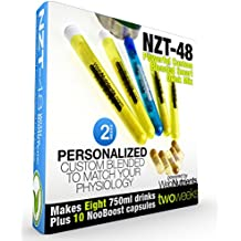 Limitless NZT-48-8 Drinks+10 Capsules - Powerful, Customized and Personalized Brain-Boosting Nootropic Drink Mix, with BONUS Booster Capsules.