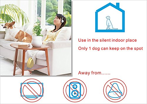 Modus Outdoor and Indoor Super Ultrasonic Bark Control Upgraded Version Dog Barking Stopper Dog Anti-Bark Control Sonic Bark Deterrents with Hanging Hole Grey-Black by Modus (Image #7)