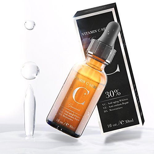 Vitamin C Serum with Hyaluronic Acid and Vit E,Anti Aging Face Serum for Face Eyes,30% Anti Wrinkle Vitamin C Facail Serum