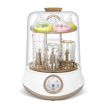 GUO@ Esterilizador de biberones, secador, bote multifuncional de esterilización de biberones de vapor con filtro de aire: Amazon.es: Bebé