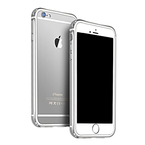 Amazon.com: iPhone 6 Plus Case, KEWEK Aluminum Metal Bumper Frame ...