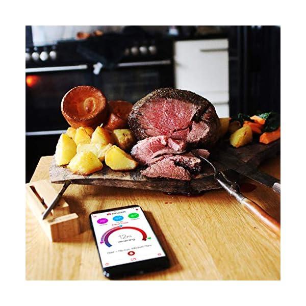 MEATER | Termometro Bluetooth Fino a 10 Metri a Sonda Senza Fili Per Forno, Grigliate, Barbecue. App in Italiano… 5