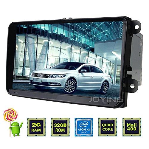 "JOYING 9"" Tablet Android Car Stereo 2GB RAM Touch Screen Double Din Radio  Head Unit Navigation for Vw Volkswagen Golf Beetle Amarok Jetta Passat CC  B6"