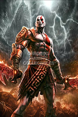 God of War CGC Huge Poster Glossy Finish III Ascension Kratos Sony PS2 PS3 PS4 PSP Vita - GOW004 (24