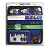 Dremel 700-03 185-Piece General Purpose Rotary Tool Accessory Kit With Case