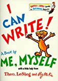 I Can Write! A Book by Me, Myself, Dr. Seuss, 0679847006