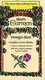 Carmen (Dover Opera Libretto Series) (French and English Edition)