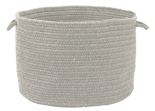 Colonial Mills WL18 18 by 18 by 12-Inch Bristol Storage Basket, Gray from Colonial Mills