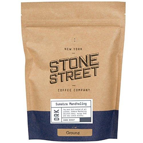 INDONESIAN SUMATRA MANDELING   Ground Coffee   1 LB Bag   Dark Roast   Single Origin Small Batch Roasted in Brooklyn   Naturally Processed 100% Arabica   Full Body, Bold, Rich, Complex Flavor