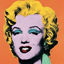 Rare Posters Andy Warhol Marilyn Poster, Orange