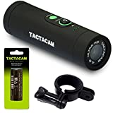 TACTACAM 4.0 5x Zoom With Flat Black Stabilizer + FREE Head Mount & Rechargeable Battery - Top Value Tactacam Bundle!