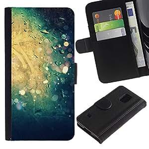 KingStore / Leather Etui en cuir / Samsung Galaxy S5 V SM-G900 / Sole