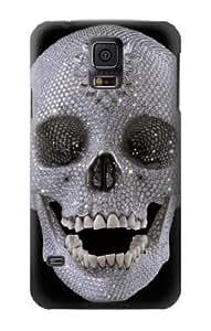 S1286 Diamond Skull Case Cover For Samsung Galaxy S5