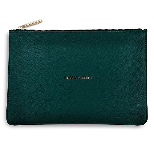 Finders Keepers Teal The Perfect Pouch Clutch Bag