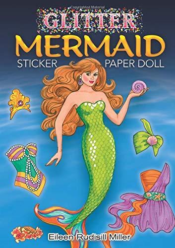 Glitter Mermaid Sticker Paper Doll (Dover Little Activity Books Paper Dolls)