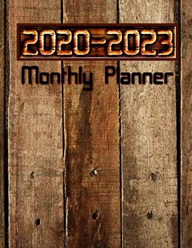 2020-2023 Monthly Planner: Men