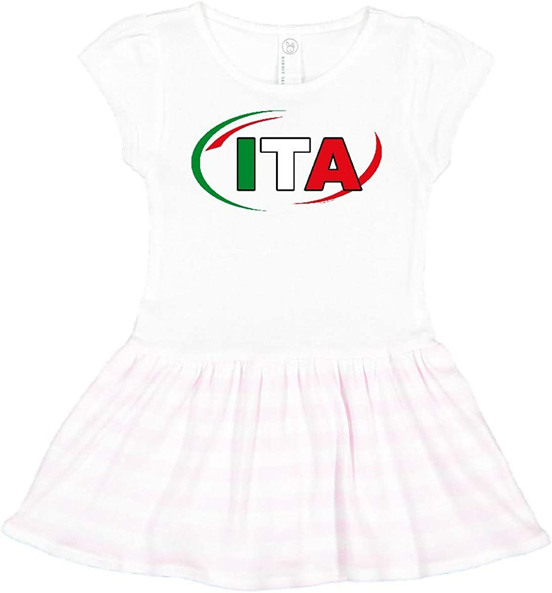 Amazon Com Inktastic Country Code Italy Toddler Dress Clothing