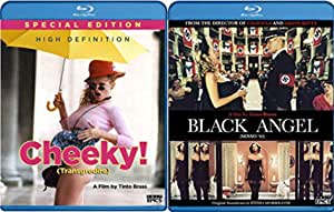Italian Classic Erotica 2-Blu-ray Bundle Collection - Tinto Brass' Black Angel & Cheeky (Special Edition)