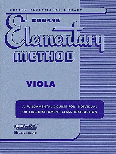 (Rubank Elementary Method - Viola)
