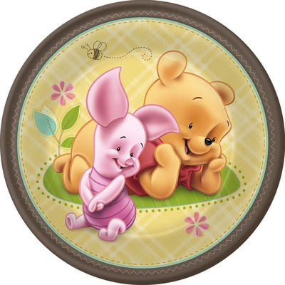 Baby Pooh and Friends Dessert Plates]()