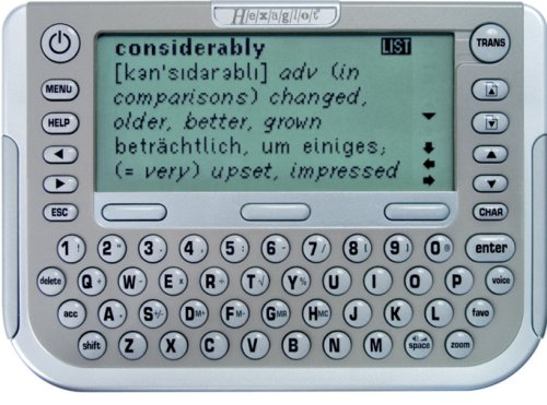 Hexaglot Professional Translator XT Sprachcomputer