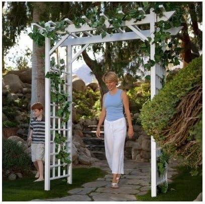 Pérgola husillos ideal para una boda entry-way de jardín o interior Bodas. Este Decorativa para pérgola resistente a la intemperie mejorará Cualquier Jardín con el enrejado para plantas y atractivo visual. La