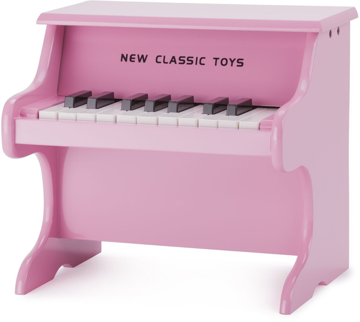 Pink New Classic Toys  10157  Musical Toy Instruments  Toy Piano  Black  18 keys